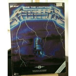Metallica Ride the Lightning Authentic Guitar Tab